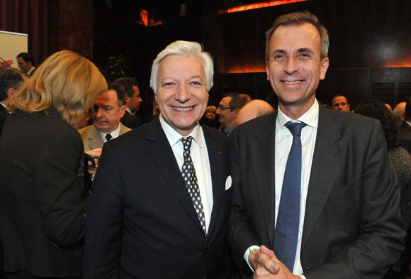 8. Marc Fraysse (Cofely GDF Suez) et Cyril de Gasquet (Adecco Médical)