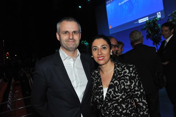 9. Lionel Badier et son épouse Marta Pardo-Badier, directrice du Mercure Château Perrache
