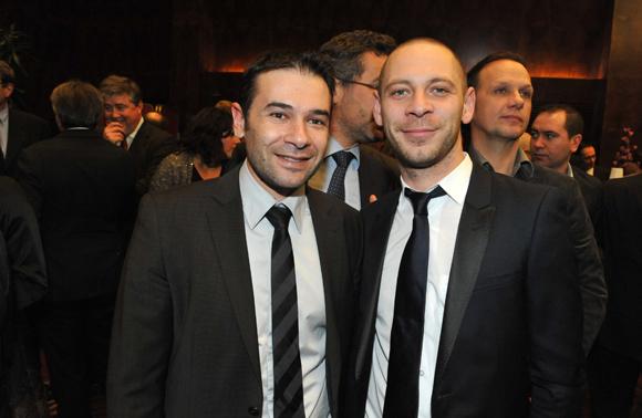 9. Cédric Diogon (Medef) et Alexandre Villard (Caffé Milano Marronniers & Mercière)