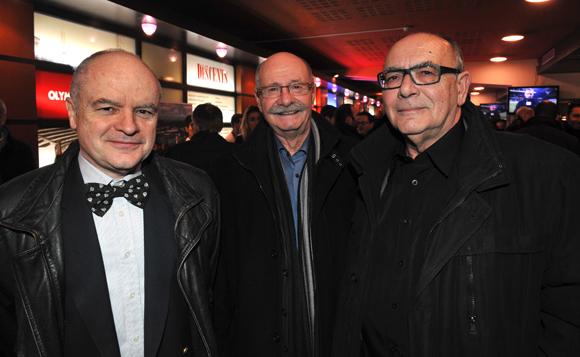 9. Lionel Lemoine, sous-préfet de Vienne, Roger Porcheron, maire d'Estrablin et Jean-Pierre Rioult, maire de Chasse sur Rhône