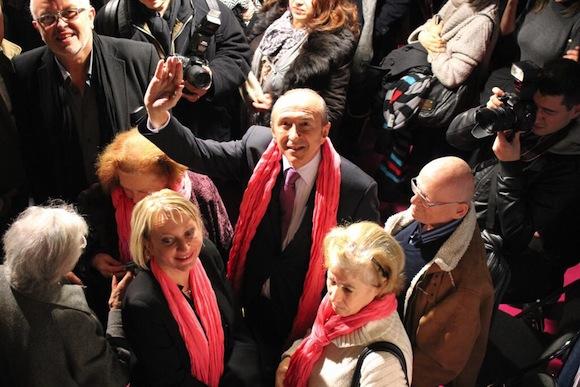 Municipales 2014. Local de campagne et campagne locale pour Gérard Collomb