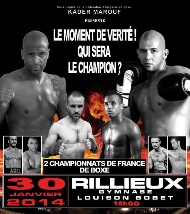 Combats de boxe à Rillieux