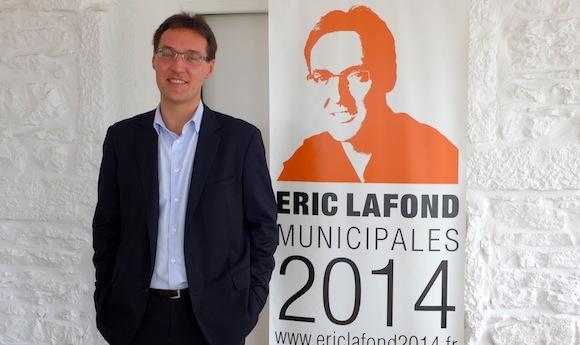 Municipales 2014. Eric Lafond, la balle au centre