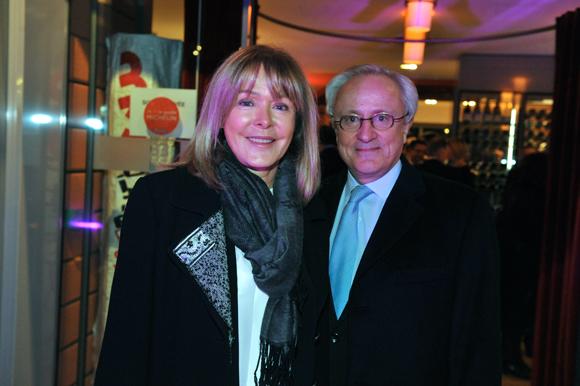 10. Bruno Sapin (AJ Partenaires) et son épouse Anne