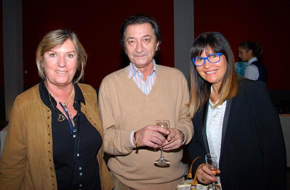 10. Marie-Noelle Pedrini, Dominique Montbardon et Annie de Starodoubski
