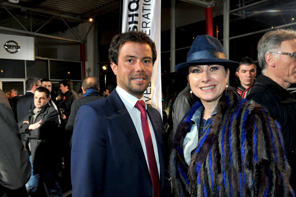 10. Justin Delorme (Groupe Delorme St Etienne) et Catherine Delorme