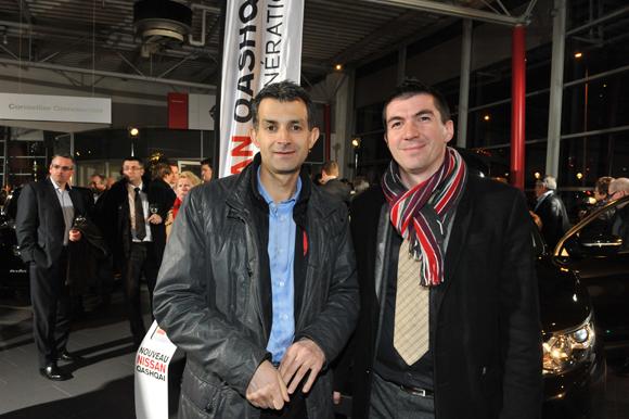 11. Damien Michon (Métro News) et Joachim Gladel (Audi - Groupe Delorme)