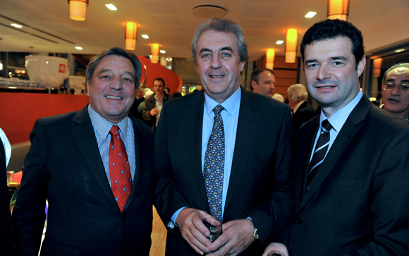 12. François Turcas, président de la CGPME du Rhône, Maître Richard Brumm, adjoint aux Finances  et Franck Morize (CGPME)