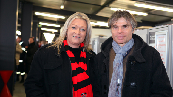12. Sandrine Aubard (Goodies Corner) et Maître Philippe Perret