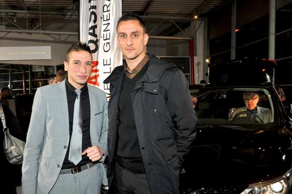 13. Jordan Allirol (Groupe Delorme) et Nicolas Priet (AS Lyon Duchère)