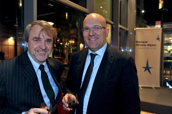 16. Gilles Copin (EM Lyon) et Bruno Bonnell, président de Robopolis