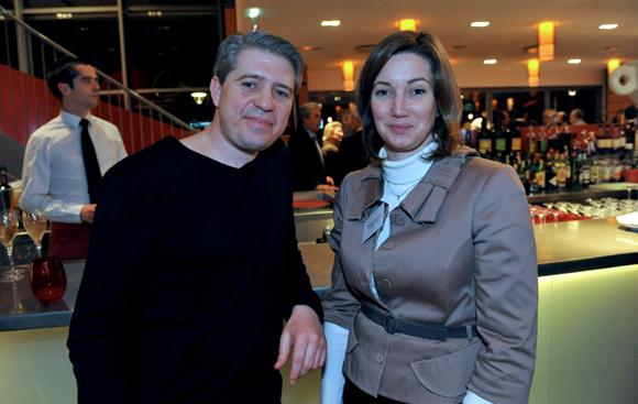 17. Philippe Perez, DG de Radio Scoop et Géraldine Thimonier (Banque Rhône-Alpes)