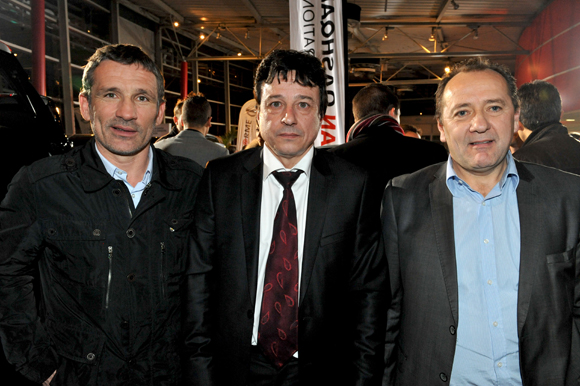 17. Stéphane Martin (Ada location), Luc Chioetto (Groupe Delorme) et Gilbert Tabarant (Nissan)