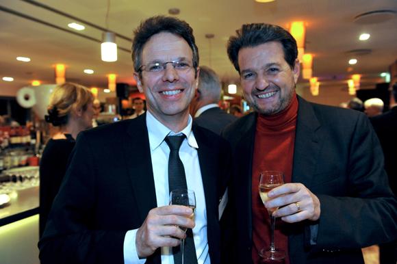 18. Christophe Caniffi (Banque Rhône-Alpes) et Pierre Marcel, président de Tournus Equipement