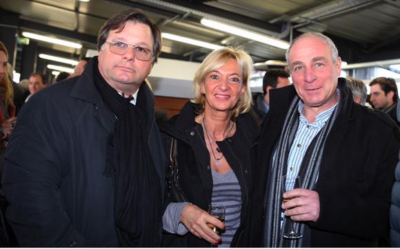 18. Franck Isaac-Sibille (LOU Rugby), Marie-Odile Fondeur, adjointe au commerce et Gérard Franses (Gérard Franses and Partners)