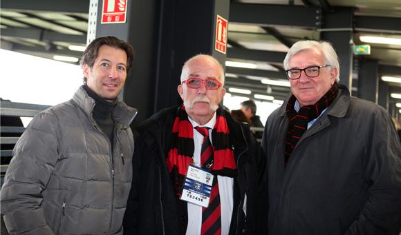 19. Maître Philippe Veber, Alain Bertrand, directeur administratif LOU Rugby et Jean-Paul Fichere (Stade Dijonnais)