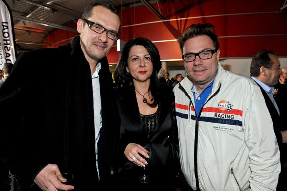 19. Sébastien Chaudat (Be Unlimited), Nathalie Romer (Lusso Shoes) et Pierre-Yves Gas (Agence Proxi'com)