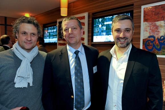 20. Pascal Bouvier (Foncière du 5ème), Vincent Bonnefond (Banque Rhône-Alpes) et Serge Bouvier (Urban Bat)