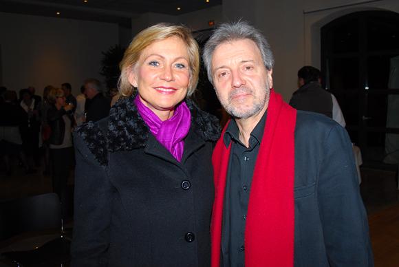 2. Odile Mattei (France 3) et Jean-Jacques Billon (Les Gastronomes de Lyon)