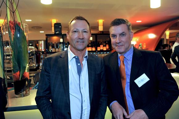 23. Patrick Martin (HBP) et Xavier Montlahuc (Banque Rhône-Alpes)