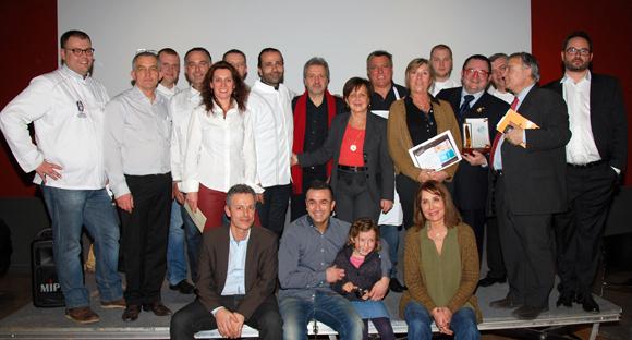 23.  Les participants au Concours des Gastronomes de Lyon