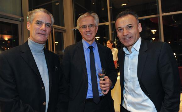 24. Claude Carron (Régie Carron), Gérard Legrand (Lamy) et Mehmet Meric, président du Groupe Meric