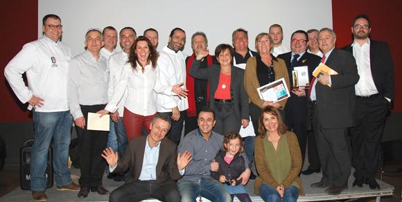 24 . Les participants au Concours des Gastronomes de Lyon