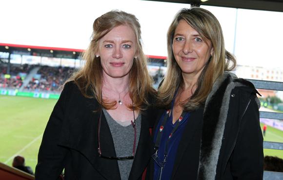 24. Virginie Plaza, directrice de Nissan Groupe Bernard et Catherine Arbaud (LOU Rugby)