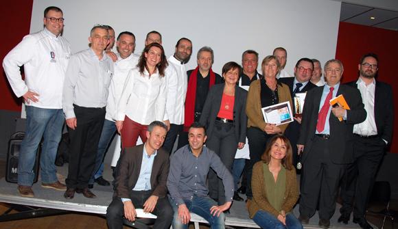 25. Les participants au Concours des Gastronomes de Lyon