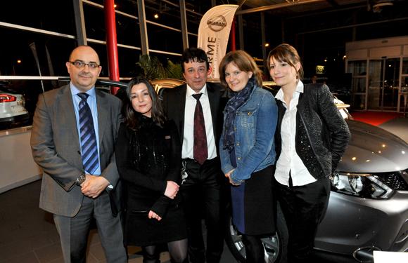 25. Franck Suiffet, Carole Dias, Luc Chioetto, Isabelle Piochel et Céline Dilas (Groupe Delorme)