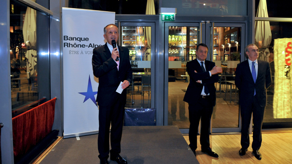 26. Le mot d'accueil d'Eric Vernusse (Banque Rhône-Alpes)