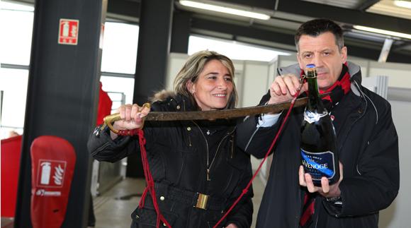 27. Valérie Savarino (Garage Martel) et Thierry Bouchet (Champagne De Venoge)