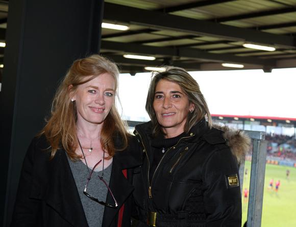 28. Virginie Plaza, directrice de Nissan Groupe Bernard et Valérie Savarino (Garage Martel)