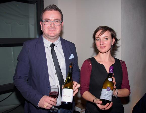 31. David Boley et Chloé Comparet (L'Union Signé Vignerons)