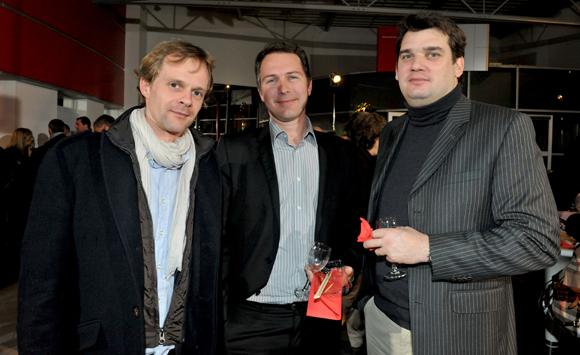 32. Aurélien Prevost (Parcours), Richard Renaud et Antoine d'Herouel (GE Capital)