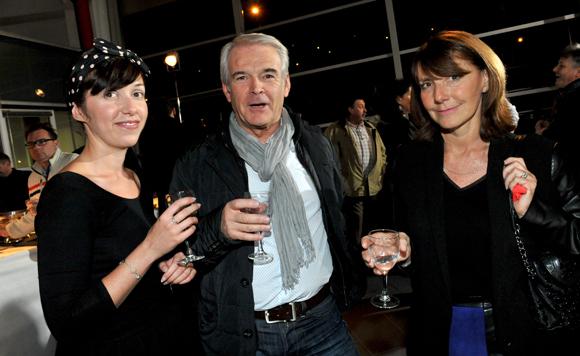38. Camille Artaud (Groupe Delorme), Jean-Noël Millard (Fiducial) et Véronique Delorme (Groupe Delorme)
