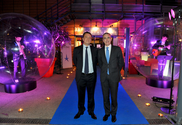 4. Bruno Deschamp, président de la SMC et Philippe Aymerich, DG Crédit du Nord