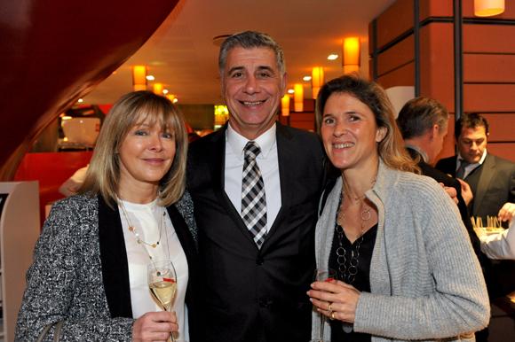 40. Anne Sapin, Pierre Maillot (Novospace) et Cécile Ginon (LOU Concept Store)