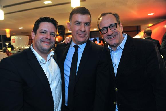 41. Arnaud Bernollin (Cuisines Bernollin), Nicolas Winckler (Lyon People) et Philippe Florentin (Bieh)