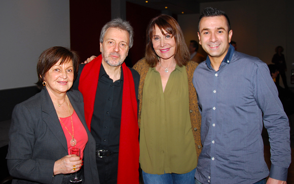 4. Danielle Pierrefeu, Jean-Jacques Billon, Françoise Petit (Lyon People) et Marc Boissieux (Gagnant Masterchef 2013)