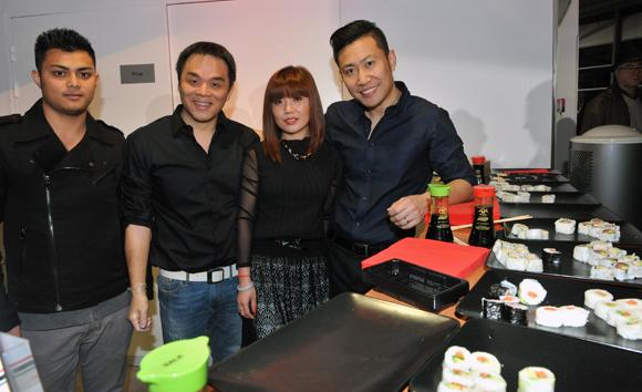 4. Hop, Su, Coco et Lei (Restaurant Home Sushi)
