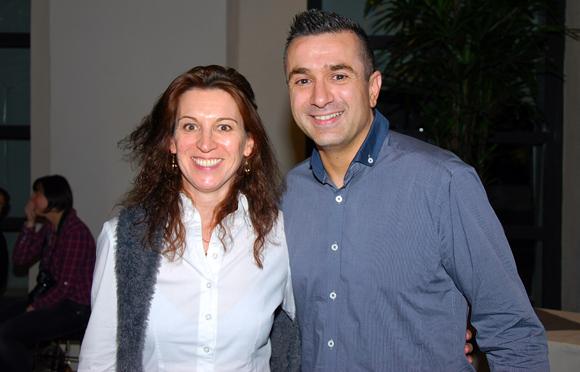 5. Laurence Labbé (coachée par La Pyramide) et Marc Boissieux (Gagnant Masterchef 2013)