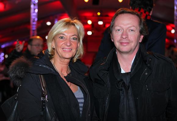 5. Marie-Odile Fondeur, adjointe au commerce et Stéphane Jacobsen (Delta Light)
