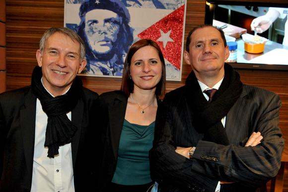 54. Alain Dias (AD Participation), Karine Isoz et Jean-Pierre Lorente, PDG de Selectour Bleu Voyages