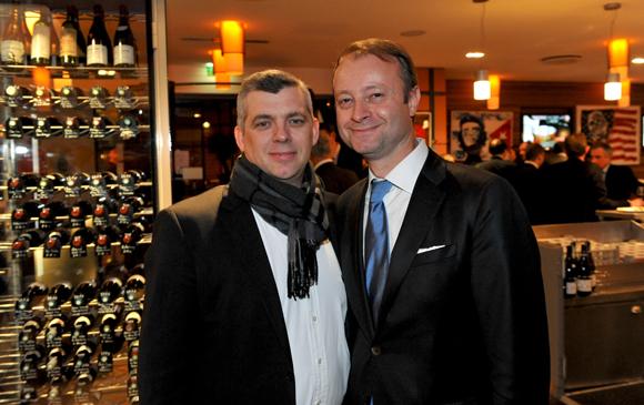 55. Laurent Bouvier, président des Toques Blanches lyonnaises et Marc Polisson, rédacteur-en-chef de Lyon People