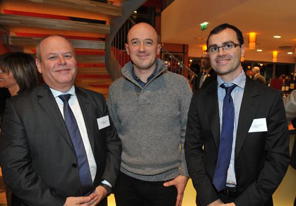 58. Jean-Michel Chenin (Banque Rhône-Alpes), Fabrice Gacon (Garage Gacon) et Jean-Jacques Schmitt (Banque Rhône-Alpes)