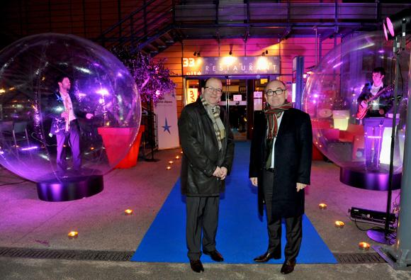 6. François Orain et Yvon Léa, nouveau président du directoire de la Banque Rhône-Alpes