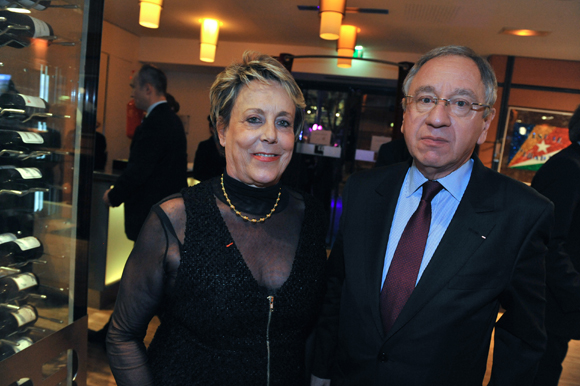 63. Carole Dufour (Idées en Tête) et Michel-Pierre  Deloche, consul du Danemark