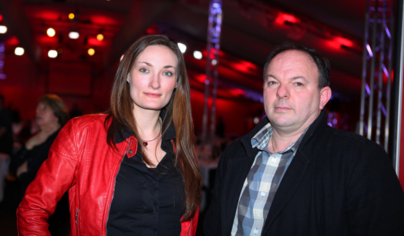 7. Maud Henry (UFF Sport Conseil) et Didier Camuzet (Union Financière de France)