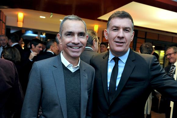 9. Jérôme Carrillon, président de Ca.ma.ro Productions et Nicolas Winckler, directeur de Lyon People